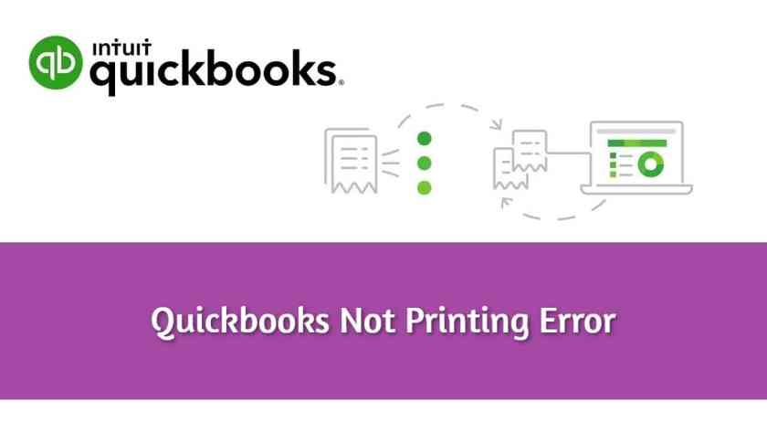 Quickbooks Won't Print Error: Fixing It With The Best 5 Techniques