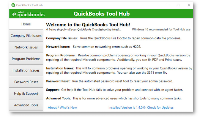 Downloading QuickBooks Tool Hub